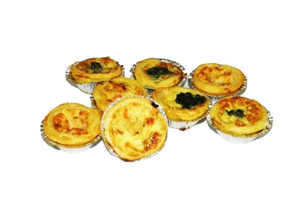 Mini quiche 12st.
